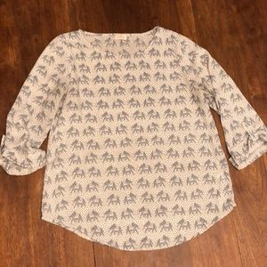 Pixley Sz Small Elephant Blouse